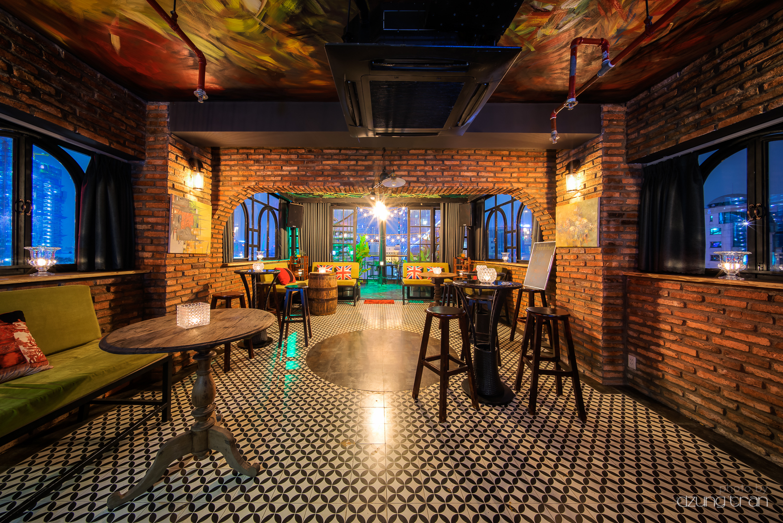 Rooftop Restaurant Interior Design : Zuma rooftop bar interior dzung tran photography